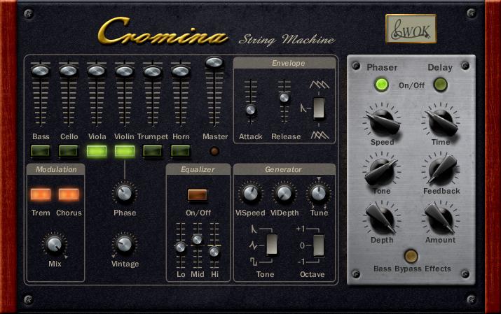 Cromina String Machine VST Stringensemble by WOK