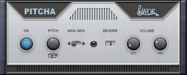 PITCHA simple pitch shifter for Windows VST by WOK
